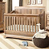 Cheap Bertini Pembrooke 4-in-1 Convertible Crib – Natural Rustic