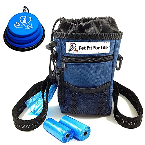 Pet Fit For Life Dog Treat Training Walking Pouch...