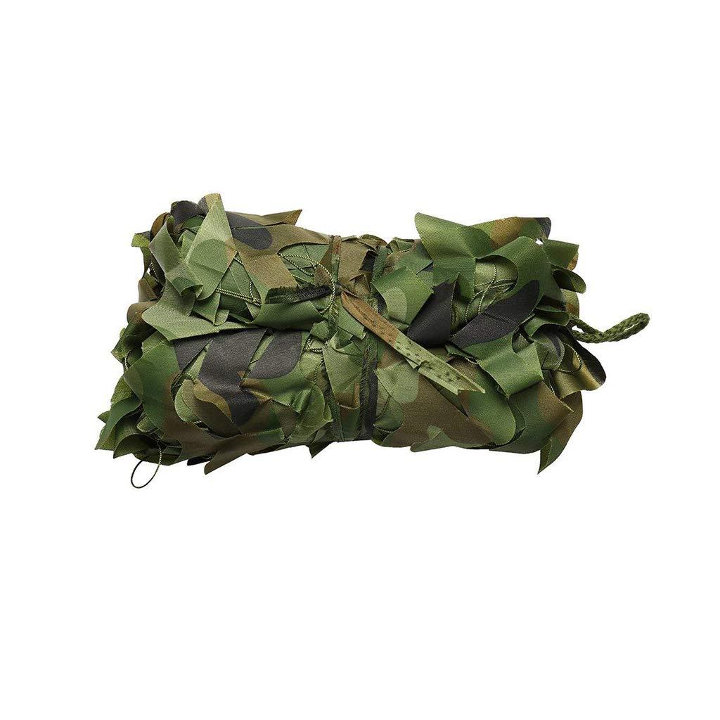 ZLZMC Dschungel Camouflage Net Oxford Tuch Für Halloween Outdoor Wald Camping Schutz Schießen Versteckt, 2m  3m, 6m  8m