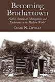 img - for Becoming Brothertown: Native American Ethnogenesis and Endurance in the Modern World (Archaeology of Indigenous-Colonial Interactions in the Americas) book / textbook / text book
