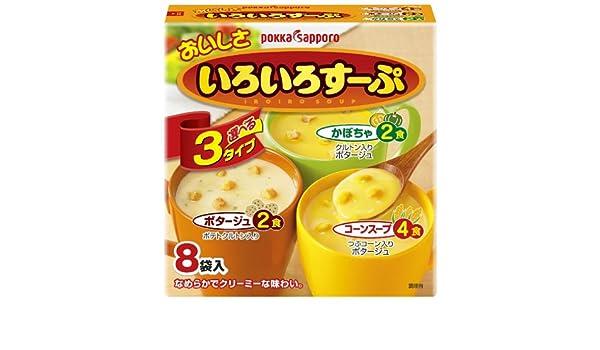Pokka Sapporo sabor de la sopa diversas bolsas de 8 cajas X5: Amazon.es: Alimentación y bebidas
