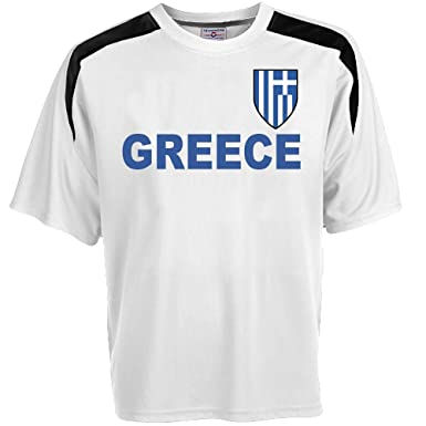 a3d97bccd Amazon.com  Custom Greece Soccer Jersey Personalized with Your Names ...