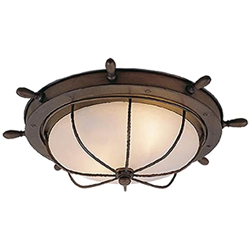 nautical ceiling light fixtures nautical themed vaxcel of25515rc orleans 15inch outdoor ceiling light antique red copper nautical lighting fixtures amazoncom