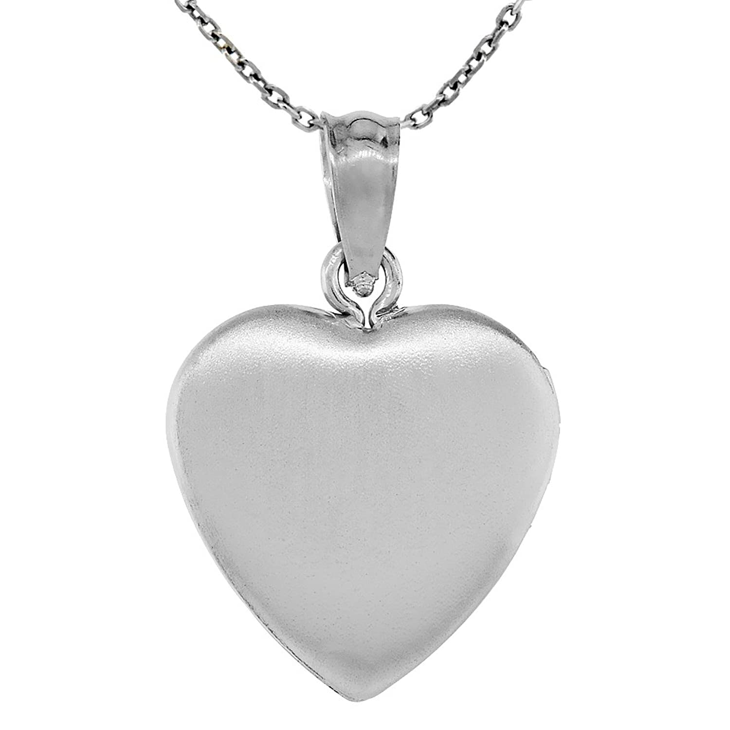 silver filigree half lockets dp heart ornami cm chain with sterling co amazon jewellery uk ladies locket curb