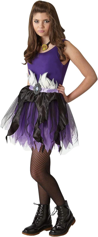 Rubies - Juego de accesorios oficial de Disney Ursula, alas y tutú ...