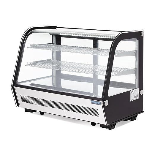 Nevera vitrina tartas vitrina mesa modelo 160L: Amazon.es: Grandes ...