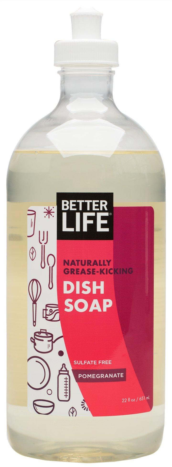 Better Life Dish Soap, Pomegranate, 22 Ounces