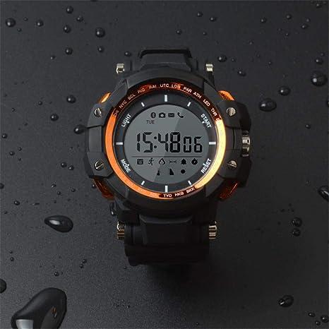 KiGoing Reloj Inteligente SW80, medidor Impermeable para Deportes Paso Altitud Monitoreo de presión de Aire