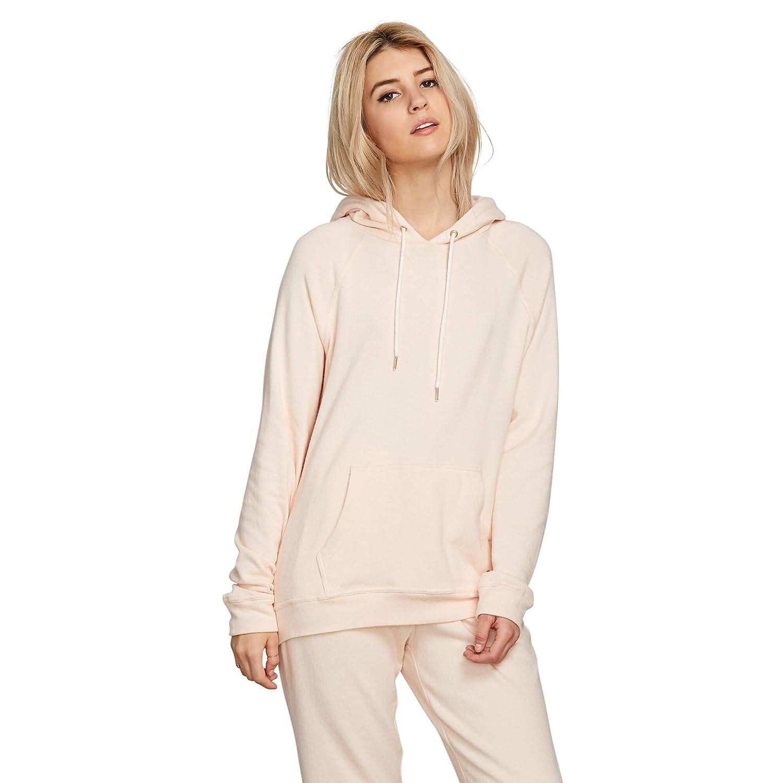 Volcom Women/'s Junior Womens Pullover Lil Hooded Fleece Sweater