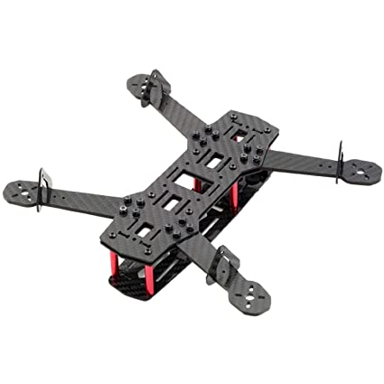 Amazon.com: usmile 250 quad 3K Carbon Fiber Fpv Quadcopter Frame for ...