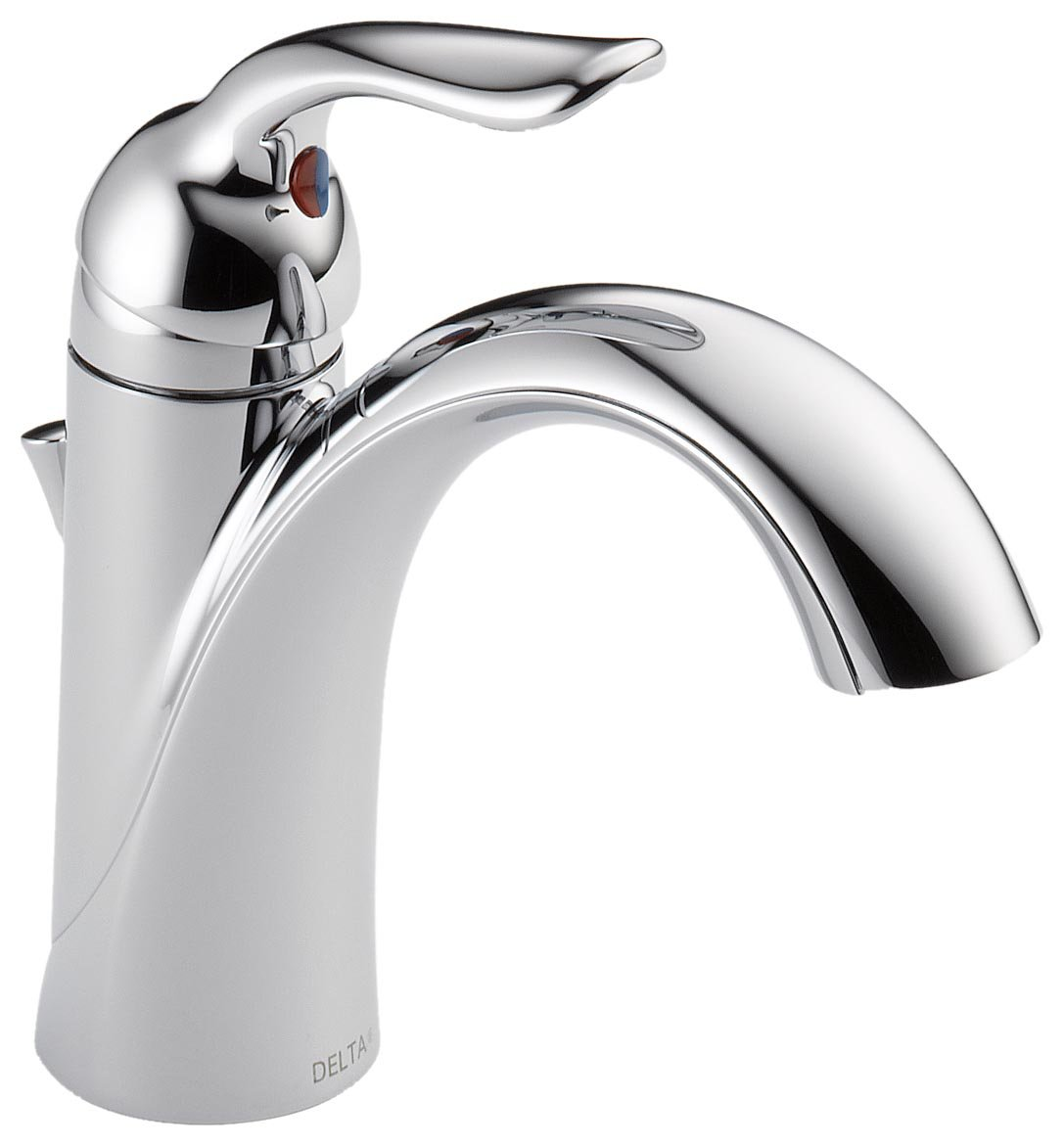 hole nickel faucets faucet front single bathroom brushed simple