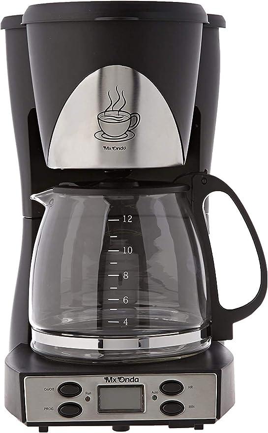 Mx Onda MXCE 2258-B Cafetera Goteo programable. Cafetera de Filtro ...