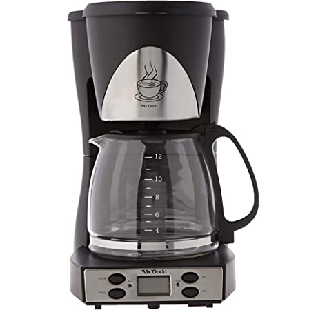 Mx Onda MX-CE 2258 Cafetera de Goteo con Temporizador, 1000 W, 1.5 litros, Negro: Amazon.es: Hogar