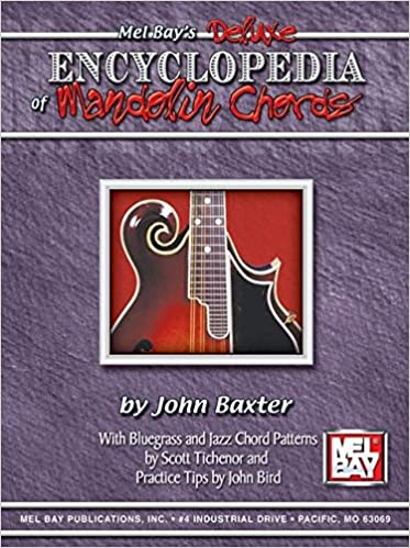 Mandolin four finger mandolin chords : Amazon.com: Mel Bay Deluxe Encyclopedia Of Mandolin Chords ...