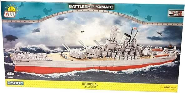 Amazon.com: Small Army COBI, 4814/ Battleship Yamato 2500 Building Bricks: Toys & Games