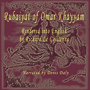 Rubaiyat of Omar Khayyam Audiobook