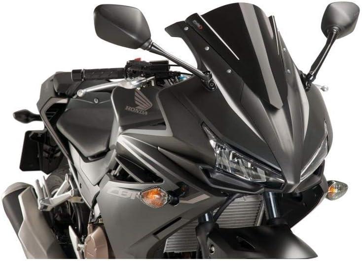 Puig 8903/N Racing /écran pour Honda Cbr500r 16/-17 Noir