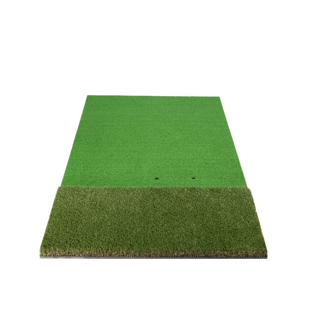 Golf putter pad Driving and Chipping Practice Golf Hitting Mat, Green, 100150cm
