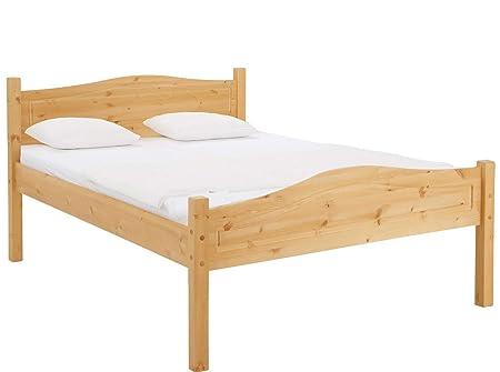 Loft24 Bett 160x200 Cm Bettgestell Massivholz Doppelbett Bettrahmen
