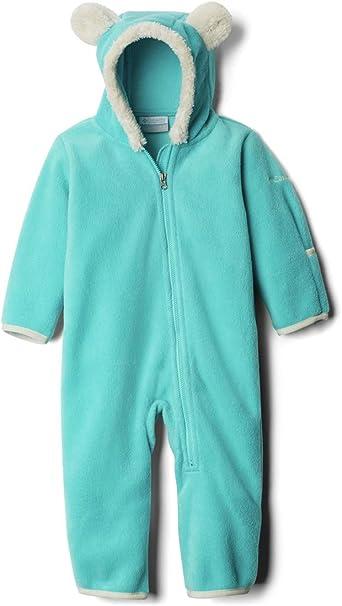 Columbia Baby Girls Tiny Bear Ii Bunting Warm Soft Fleece