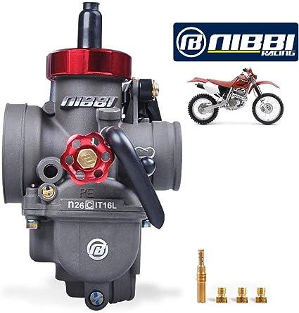NIBBI Racing Performance Motocicleta carburador 26mm GY6 125CC ...