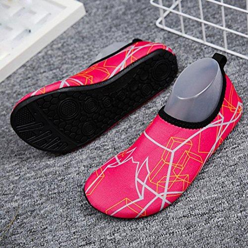 Unisex Shoes Driving Shoes Aqua for Beach Water Swim Shoes Lake Red Shoes Swim Women Garden Sports Men Boating Park XYao Barefoot Dry Walking Quick Yoga Eqdw8RExz