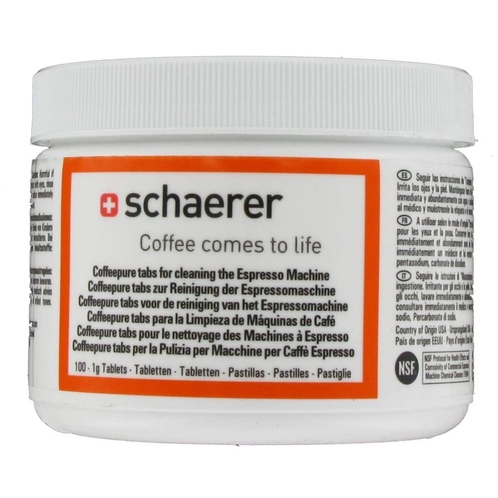 Amazon.com: Schaerer Cleaning Tablets: Coffee Machine And Espresso Machine Cleaning Products: Kitchen & Dining