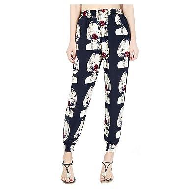 Pantalones harén para Mujer Otoño Invierno 2018 Moda PAOLIAN ...