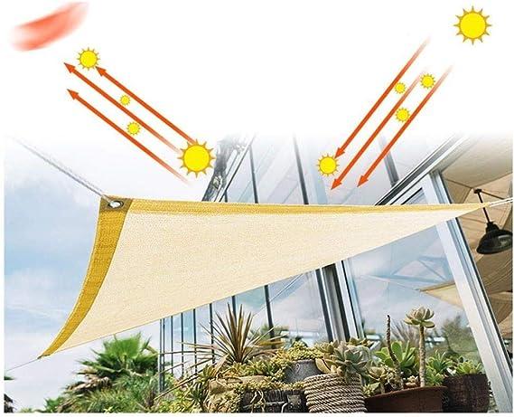 IVHJLP Protector Solar 90% protección UV, toldo de pérgola para ...