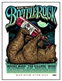 #2: BottleRock BP1 Aames Bros. Limited Edition Drinking Bear Festival Poster