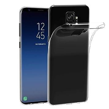 ivoler Funda Carcasa Gel Transparente Compatible con Samsung Galaxy S9, Ultra Fina 0,33mm, Silicona TPU de Alta Resistencia y Flexibilidad