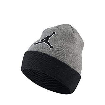 af850bc7 Nike Jordan Beanie Graphic, Men's Hat, Carbon Heather Black, One Size:  Amazon.co.uk: Sports & Outdoors
