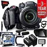 Canon EOS C200 EF Cinema Camera and 24-105mm Lens Kit International Version (No Warranty) Professional Combo