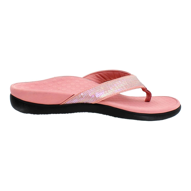 Vionic Womens Tide Sequins Sandal Rose Size 9