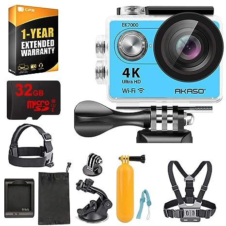 Amazon.com: AKASO EK7000 Ultra HD cámara de acción deportiva ...