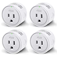 Deals on 4-Pack KMC WIFI MiNi Outle Works with Alexa