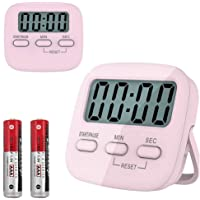 Kitchen Timer, YanYoung Digital Countdown Timers with Loud Alarm, Mute Mode, Auto-Off, Magnetic Back Mini Portable…