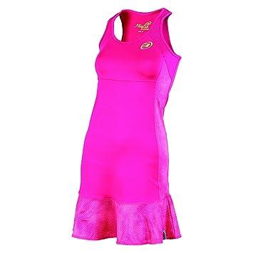 Bullpadel Beltona - Vestido para mujer, color fucsia, talla XL