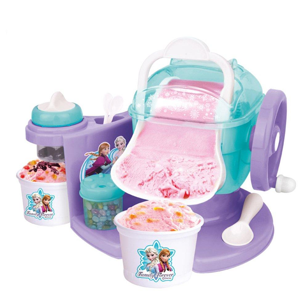 冰雪奇缘雪糕机冰淇淋机家用儿童玩具