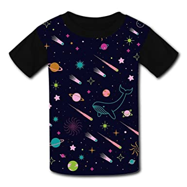 Baby The Starry Night Short Sleeve Shirt Toddler Tee