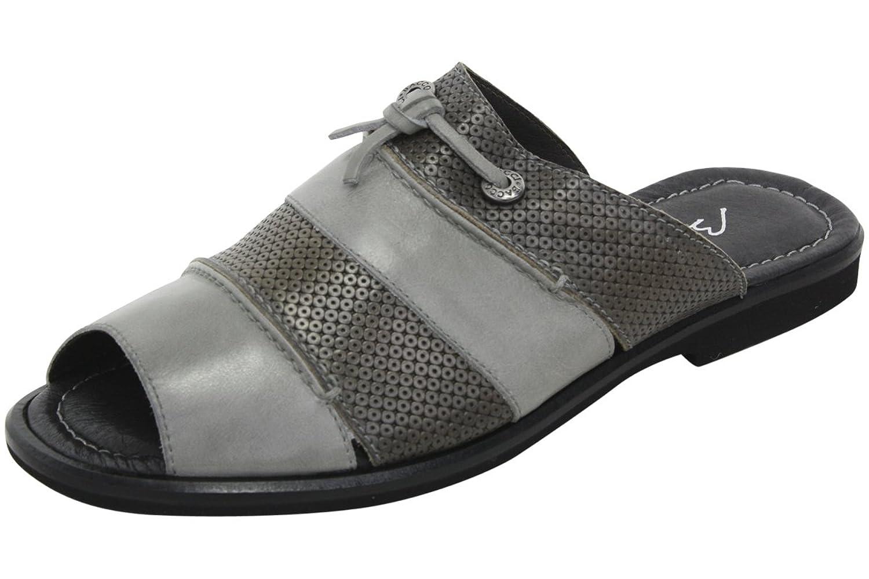 Bacco Bucci Men's Laguna Blue Slip-On Mule Sandals Shoes