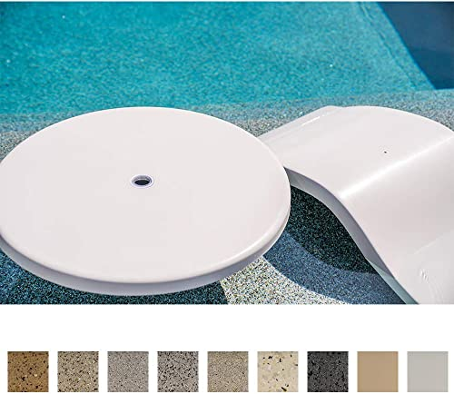 S.R.Smith PL-30 UMB TABLE-61 30 Umbrella Hole in-Pool Table, inch, Seashell