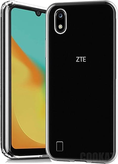 cookaR Funda ZTE Blade A7 2019 HD Cristal, Carcasa Antigolpes ...