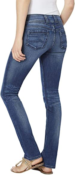Pepe Jeans Damen Jeans GEN Blue Denim 29 32: