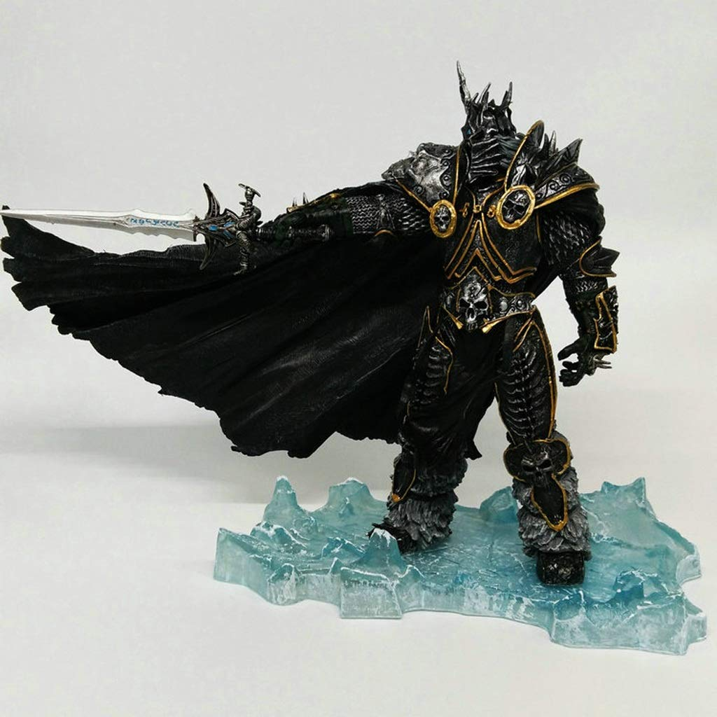 AINIYF World of Warcraft Personaggio Modello Lich King Alsazia Death Knight Statue Gift Souvenir Artigianato Regali di Festa Decorazione (20C