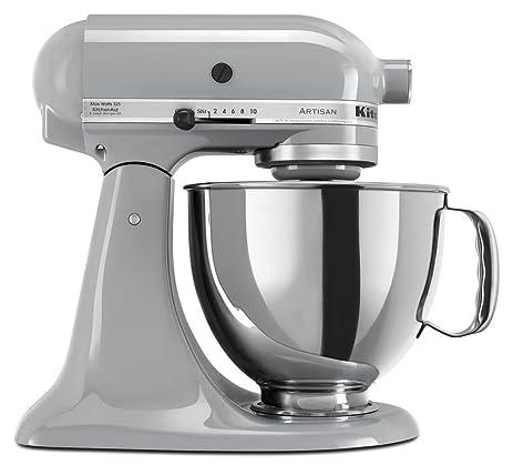 Amazon.com: KitchenAid KSM150PSMC Artisan Series 5-Qt. Stand Mixer ...