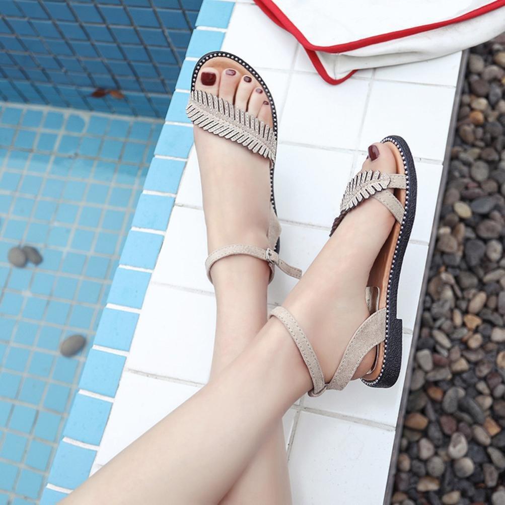 Sandales Amazon Day Luckycat Feuilles Femme D Mode Été Prime xY7pq4