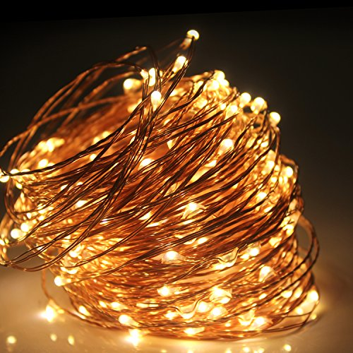 Copper Patio String Lights : Moobibear 66ft Outdoor Dimmable LED String Lights Copper Wire, - Import It All
