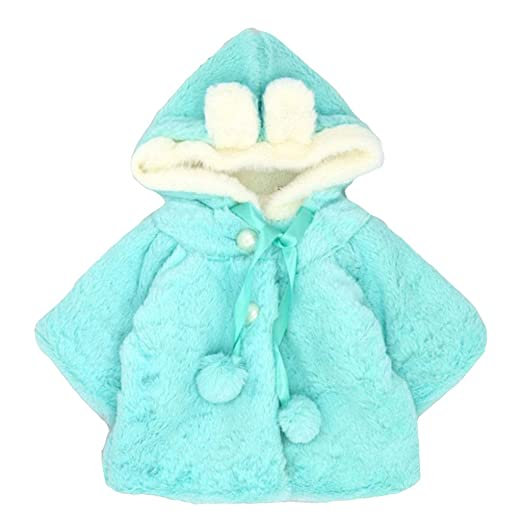 7ccc5c78a Amazon.com  Shineweb Newborn Infant Baby Girl Faux Fur Warm Winter ...