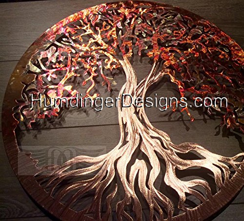 (Metal Wall Art Tree Of Life (Pure Copper) by Humdinger Designs ...)